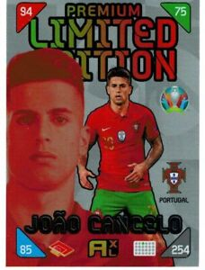 PANINI ADRENALYN XL EURO 2020 - 2021 KICK OFF CANCELO (PREMIUM LIMITED EDITION)
