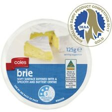 Coles Wrapped Cheese Brie 125g