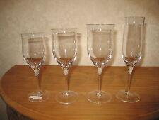 BOUSSU *NEW* PRELUDE Set 4 Verres Glasses