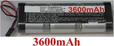 Batterie 7.2V 3600mAh type NS360D37C114 Futuba-3P Pour Generic RC Racing Car