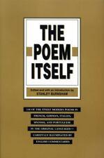 The POEM ITSELF Burnshaw Stanley 150 finest modern poems french, german & more