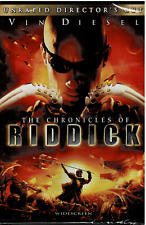 The Chronicles of Riddick,(unrated Director's Cut),New and Sealed, Free Shipping