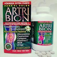 100 tabs ARTRIBION & ortiga ARTHRITIS glucosamina OSTEOPOROSIS ARTICULACIONES