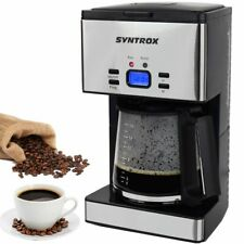 Edelstahl Kaffeemaschine Kaffeeautomat mit Timer