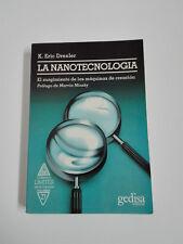 Livre NANOTECHNOLOGIE K. Eric Drexler 1993