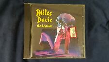 DAVIS MILES  - THE BEST LIVE. CD SONY COLUMBIA