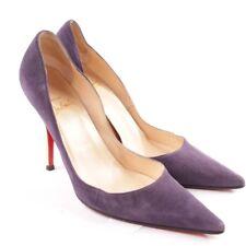 Christian Louboutin Zapatos de Tacón Talla D 37,5 Púrpura Mujer Tacones Altos