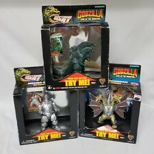 1994 Trendmasters Godzilla King of The Monsters Mecha Ghidorah & Mecha Godzilla