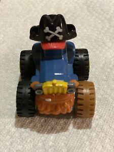 Blaze and the Monster Machines Pegwheel Pete Pirate Truck DieCast.