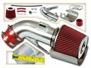 Racing Air Intake Kit + Shield Red Filter for 09-17 Nissan Maxima 3.5L V6 DOHC