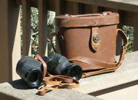 WW2 US Army Military M6 6X30 Binoculars w/ M17 Carrying Case 1942 Field Gear