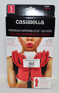Casabella Water Block Premium Gloves Small Pink