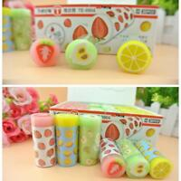 Fruit Pattern Rubber Eraser Creative Kawaii Stationery School Supply Hot Sale