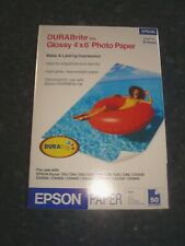 "EPSON 4"" x 6"" DURABRITE GLOSSY PHOTO PAPER 50 SHEETS"