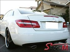 Painted 650 White Tail Lip Spoiler For 2011+ C207 W207 E250 E350 E550 AMG Coupe