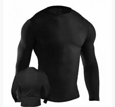 Adult MMA Rash Guard BJJ Grappling Full Sleeve Men No Gi fight No Logo