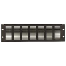 Panneau de ventilation pour Rack 19 3u Épaisseur 1.2mm Noir Velleman Vdvp3