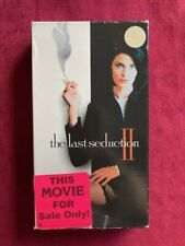 THE LAST SEDUCTION - VHS