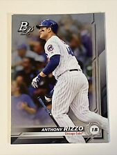 2019 Bowman Platinum Anthony Rizzo #30 Chicago Cubs