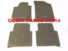 NEW OEM 2007-2009 Nissan Altima Sedan Beige Blonde Carpeted Floor Mats Set