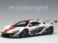 AUTOart 81541 McLAREN P1 GTR 1/18 MODEL GLOSS WHITE with RED STRIPES