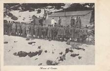 A1016) WW1, MESSA AL CAMPO. VIAGGIATA.