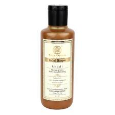 Khadi Herbal Shampoo with Henna & Tulsi Extra Conditioning for Dry Hair SLS Free