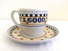 Mary Engelbreit Tea Cup And Saucer Set Its Good To Be Queen