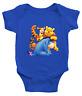 Infant Baby Boy Girl Rib Bodysuit shower Gift Disney Friends Tigger Eeyore Pooh