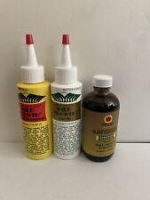 Wild growth and black castor oil combo 4oz Each