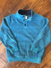 Gymboree Boys Jacket Coat Polar Fleece Size 7 8 Medium EUC Half Button