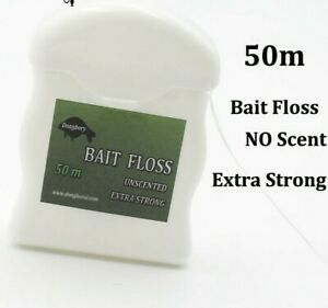 Bait Floss Extra Strong 50m Carp Fishing Floss For Boilies Rig Chod Zig Rig Tac
