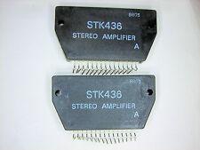 "STK436  ""Original"" SANYO  15P SIP IC  2  pcs"