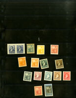 Argentina Early Collection of 16 Stamp Proofs