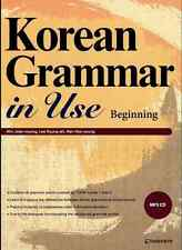 Korean Grammar in Use with MP3 CD Beginning to Early Intermediate Text Book Gift