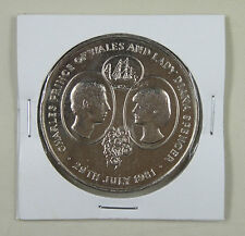 New listing St.Helena 25 Pence 1981 Unc, Wedding of Prince Charles and Lady Diana