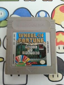 Nintendo  Gameboy WHEELS OF FORTUNE  Video game FREE SAME DAY  POSTAGE
