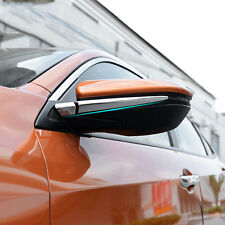 NEW CAR REAR VIEW SIDE DOOR MIRROR PILLAR CHROME COVER TRIM FIT FOR  HONDA CIVIC