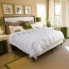 White Goose Down Comforter-Luxurious All Seasons-Queen Size Duvet Insert