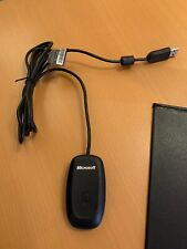 Microsoft Xbox 360 Wireless Receiver PC Adapter - OFFICIAL - NEW BLACK Version