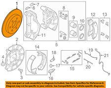 NISSAN OEM 16-18 Titan XD-Disc Brake Rotor 43206EZ00A