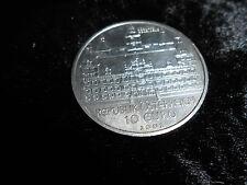 """ÖSTEREICH 10 EURO 2002, SILBER """"SCHLOSS EGGENBERG - JOHANNES KEPLER"""""""