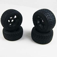 Rovan On-road Wheel Tire on 6 Spoke Wheels fit HPI Baja Buggy 5B SS King Motor