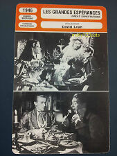 Dickens David Lean Jean Simmons Great Expectations Film French Trade Card