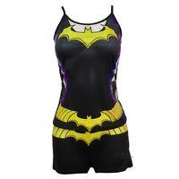 Batman Batgirl New 52 Body Costume DC Comics Tank And Shorts Pajama Set