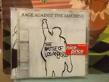 """RAGE AGAINST THE MACHINE """" THE BATTLE OF LOS ANGELES """" CD 1999"""