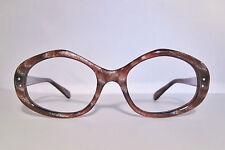 True Vintage Pathway Usa Clear Maroon Stardust Eyeglass Frames Deadstock 52mm