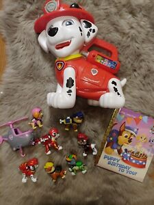 VTech PAW Patrol Treat Time Marshall And Toys Lot