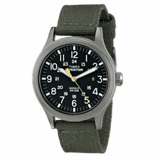 Relojes de pulsera baterías de tela/cuero para hombre