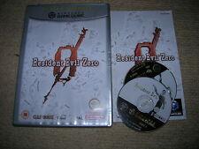 RESIDENT EVIL ZERO - Rare Boxed NINTENDO GAMECUBE / WII Game